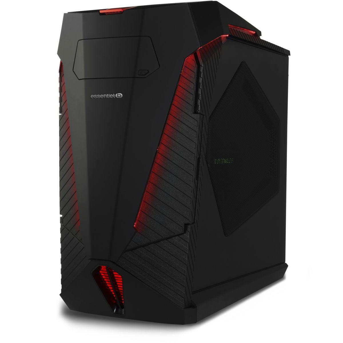 PC gamer ESSENTIELB Dark'Desk 1005-1
