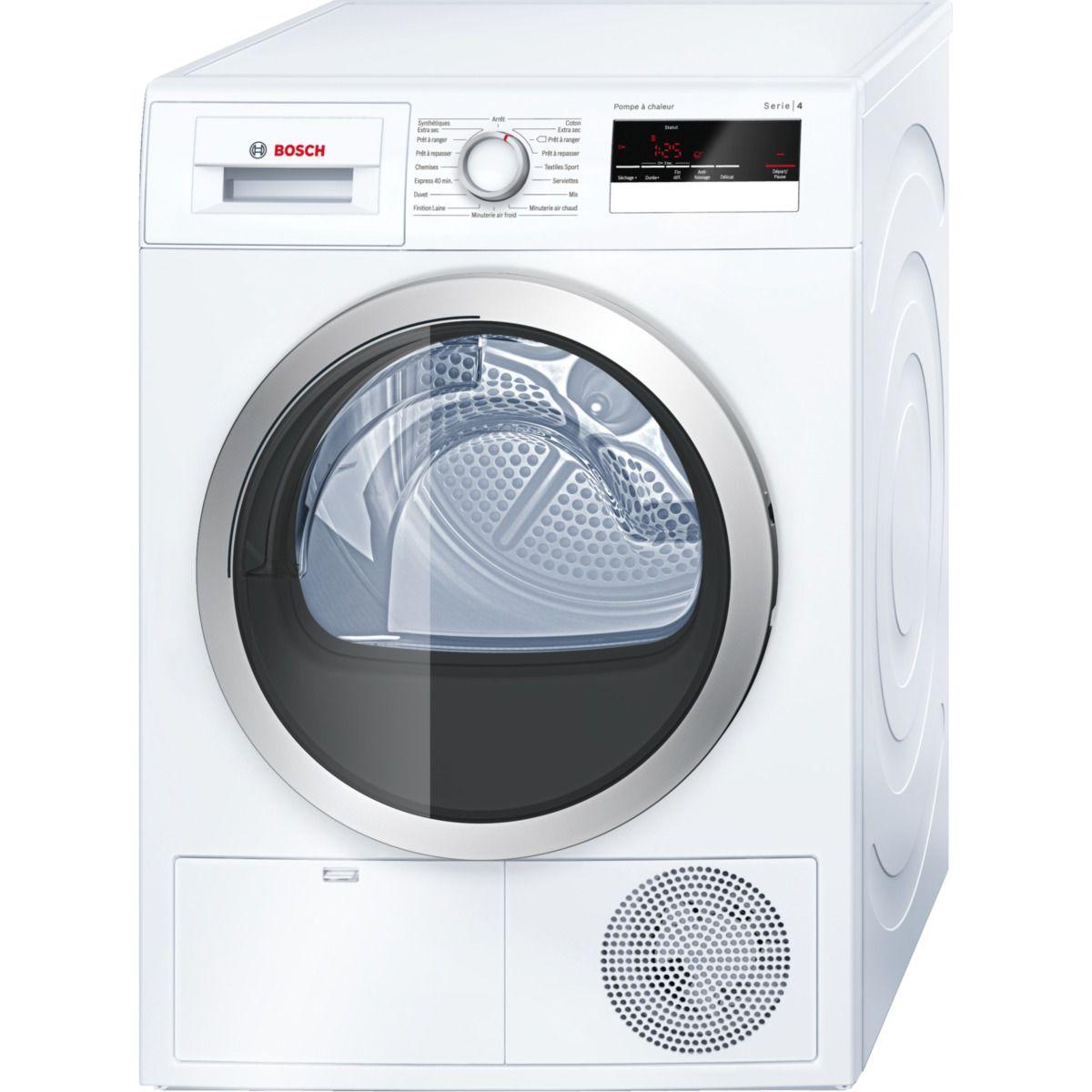 Sèche linge pompe à chaleur BOSCH WTH 85290FF
