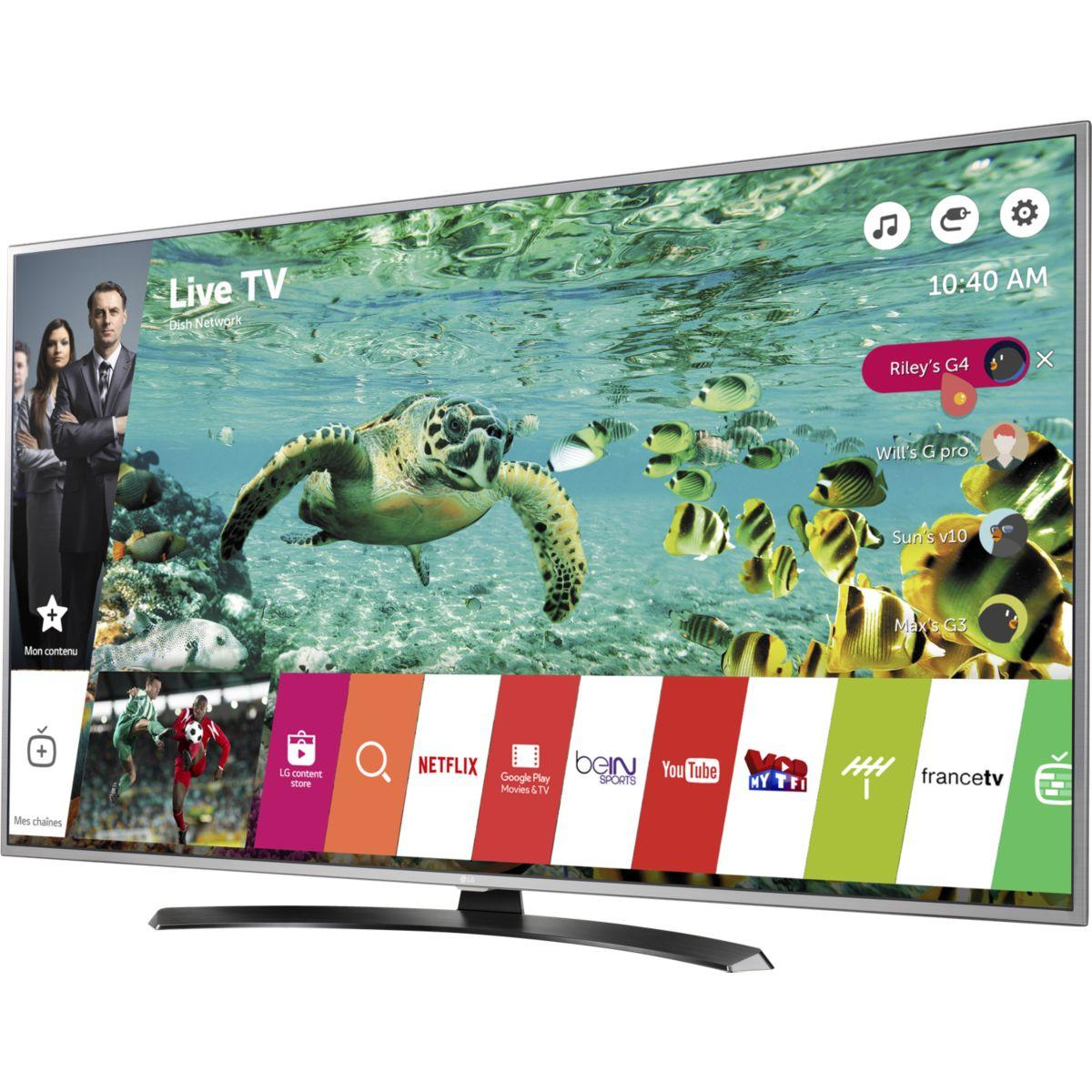 TV LG 49UH668V 4K HDR 100 PMI SMART TV