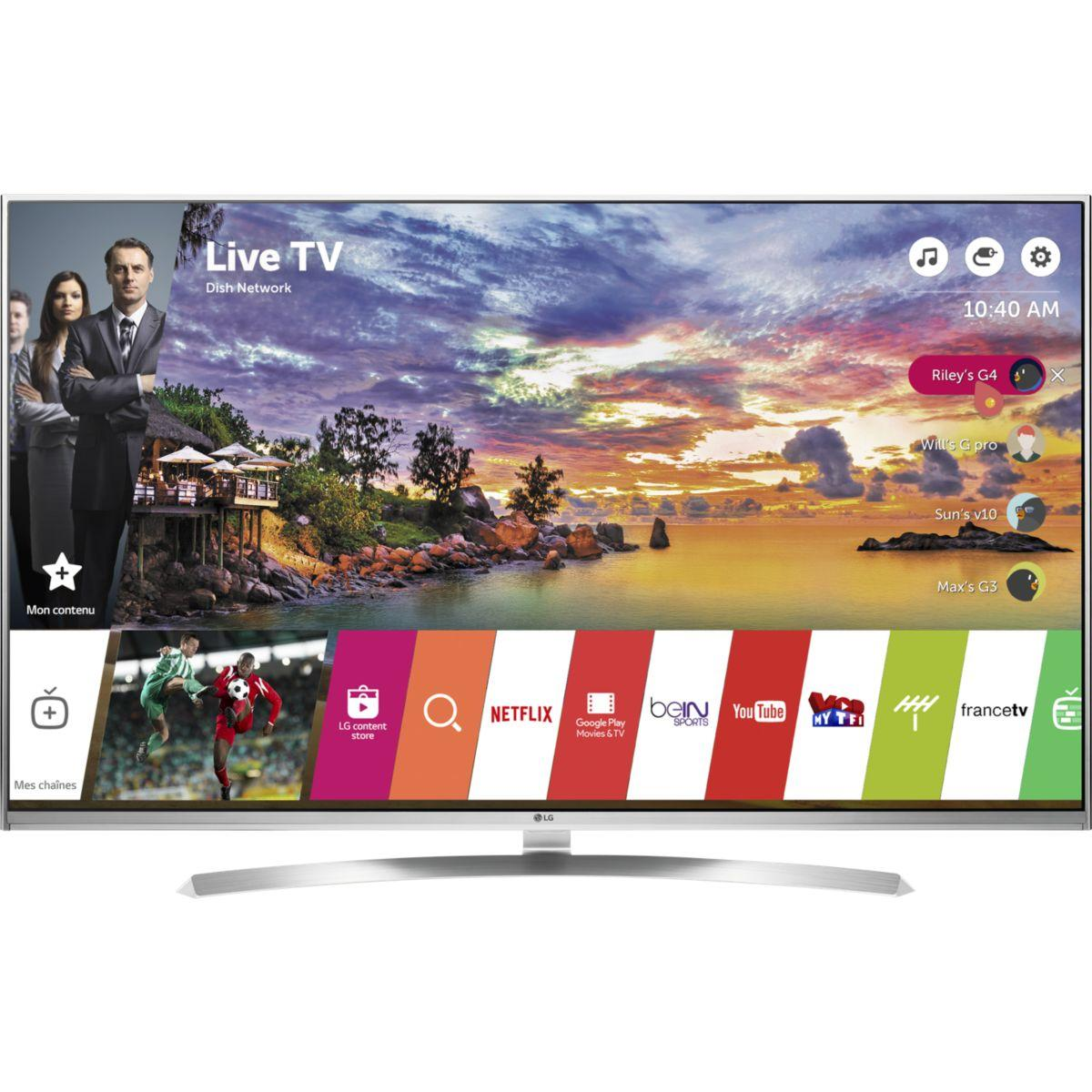 TV LG 55UH850V 200HZ 4K SMART TV 3D