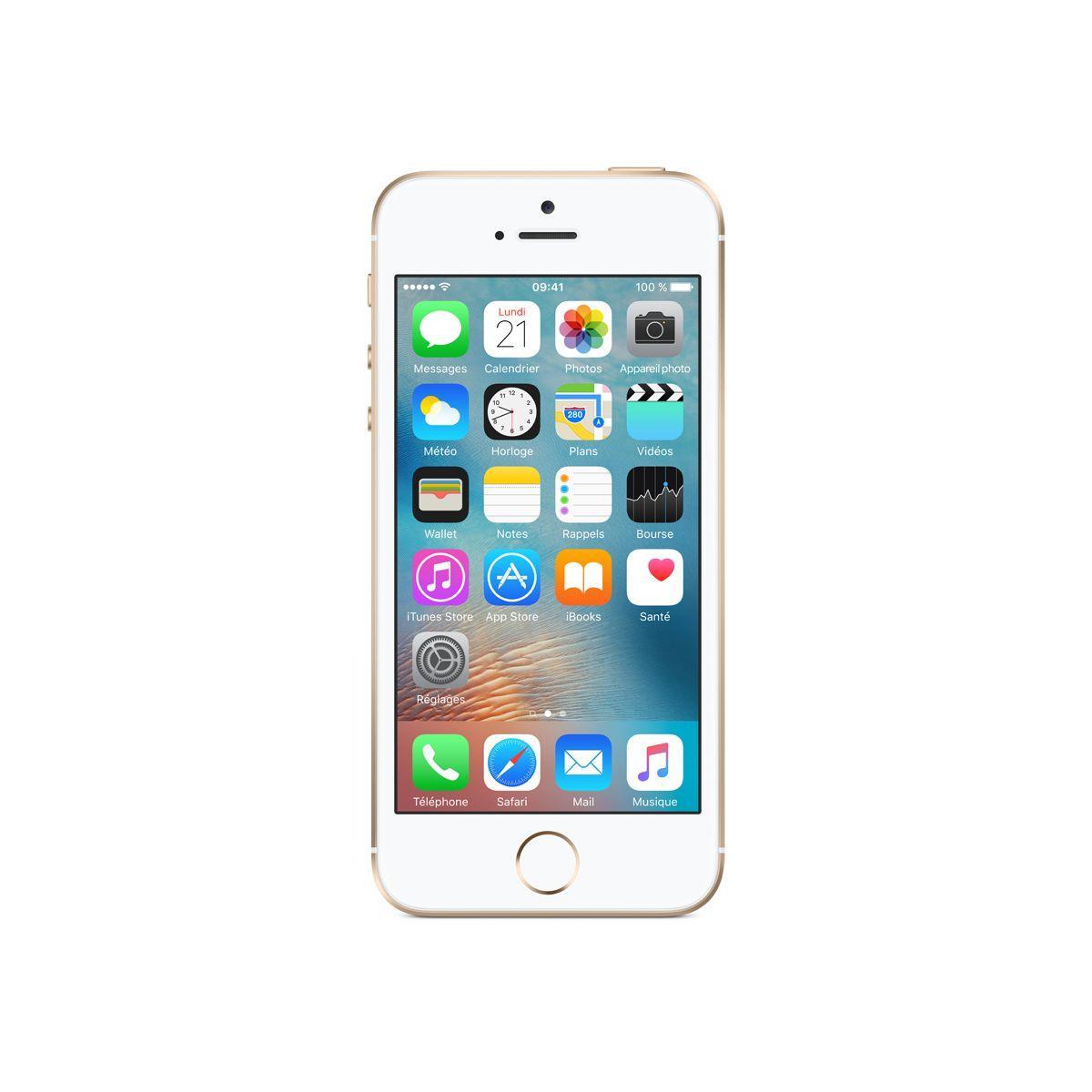 APPLE iPhone SE 16Go Or (photo)