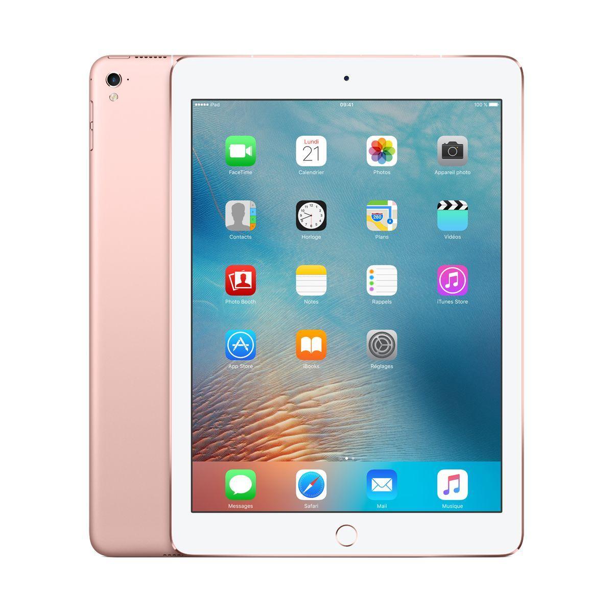 APPLE iPad Pro 9.7 128Go cellular Or rose