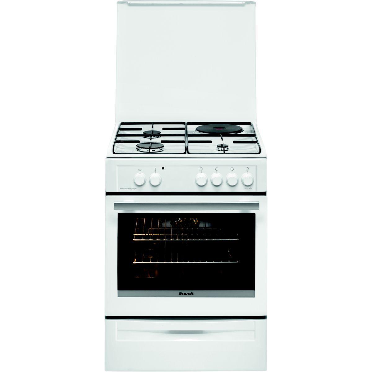 Cuisinière mixte BRANDT EX BCM6655W