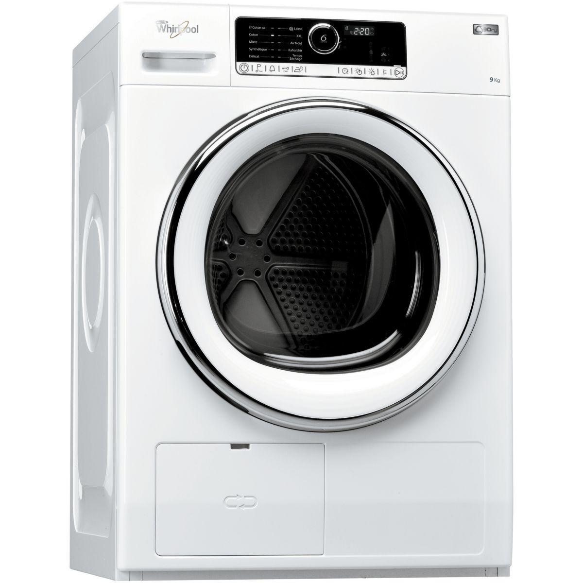 Sèche linge pompe à chaleur WHIRLPOOL HSCX 90422