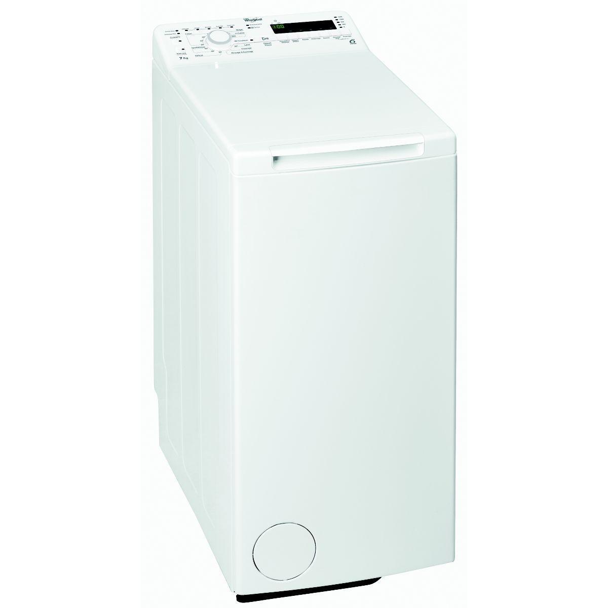 Lave linge top WHIRLPOOL TDLR 70210