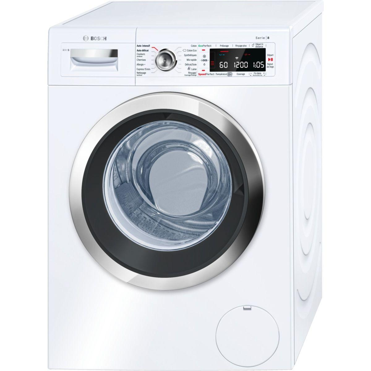 Lave linge hublot BOSCH WAWH 2660FF HOME CONNECT
