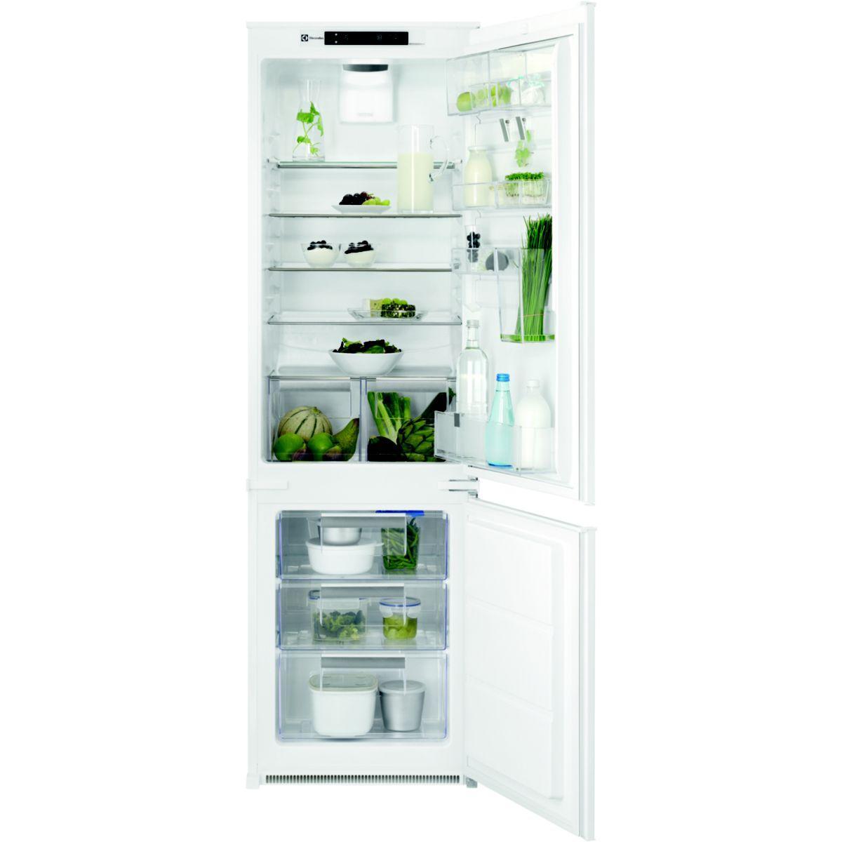 Réfrigérateur combiné encastrable ELECTROLUX ENN2874CFW