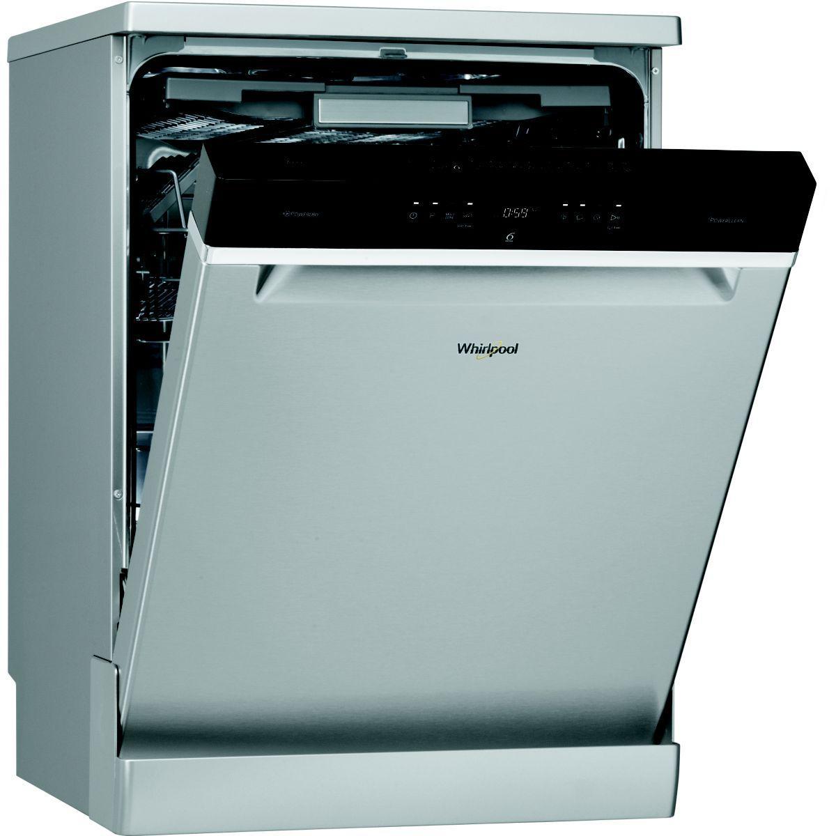 Lave vaisselle 60 cm WHIRLPOOL WFO3033DLX Inox