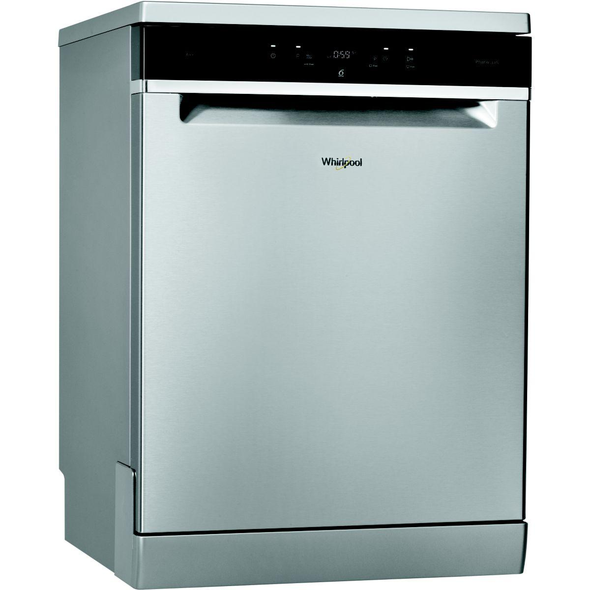 Lave vaisselle 60 cm WHIRLPOOL WFC 3C26PX Inox