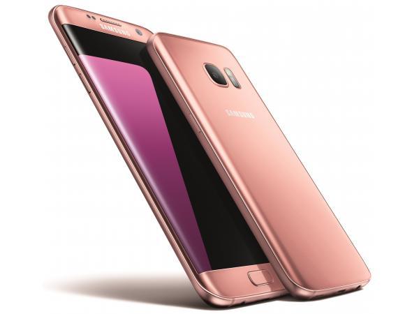Smartphone SAMSUNG Galaxy S7 Edge Rose 32Go