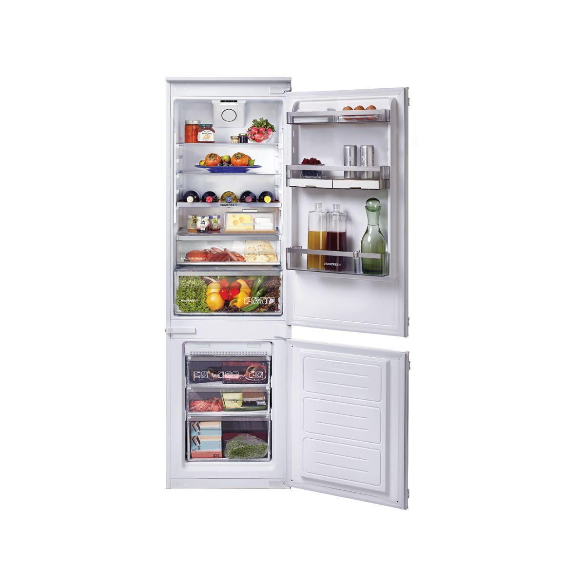 Réfrigérateur combiné encastrable ROSIERES RBBF178