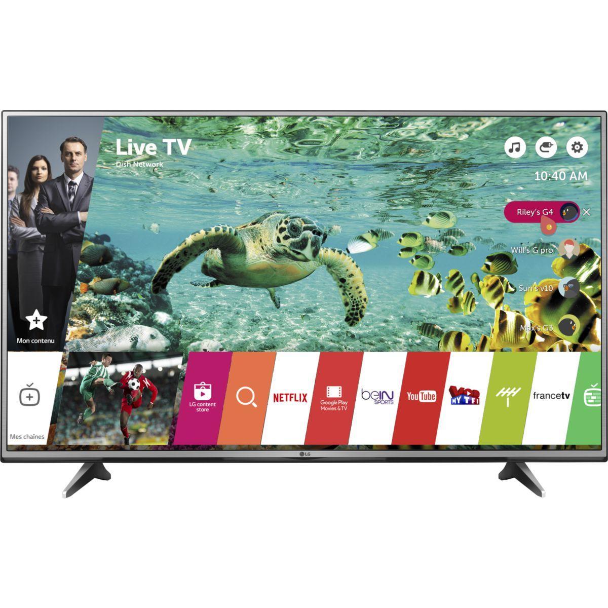 TV LG 55UH615V 4K HDR 1200 PMI SMART TV