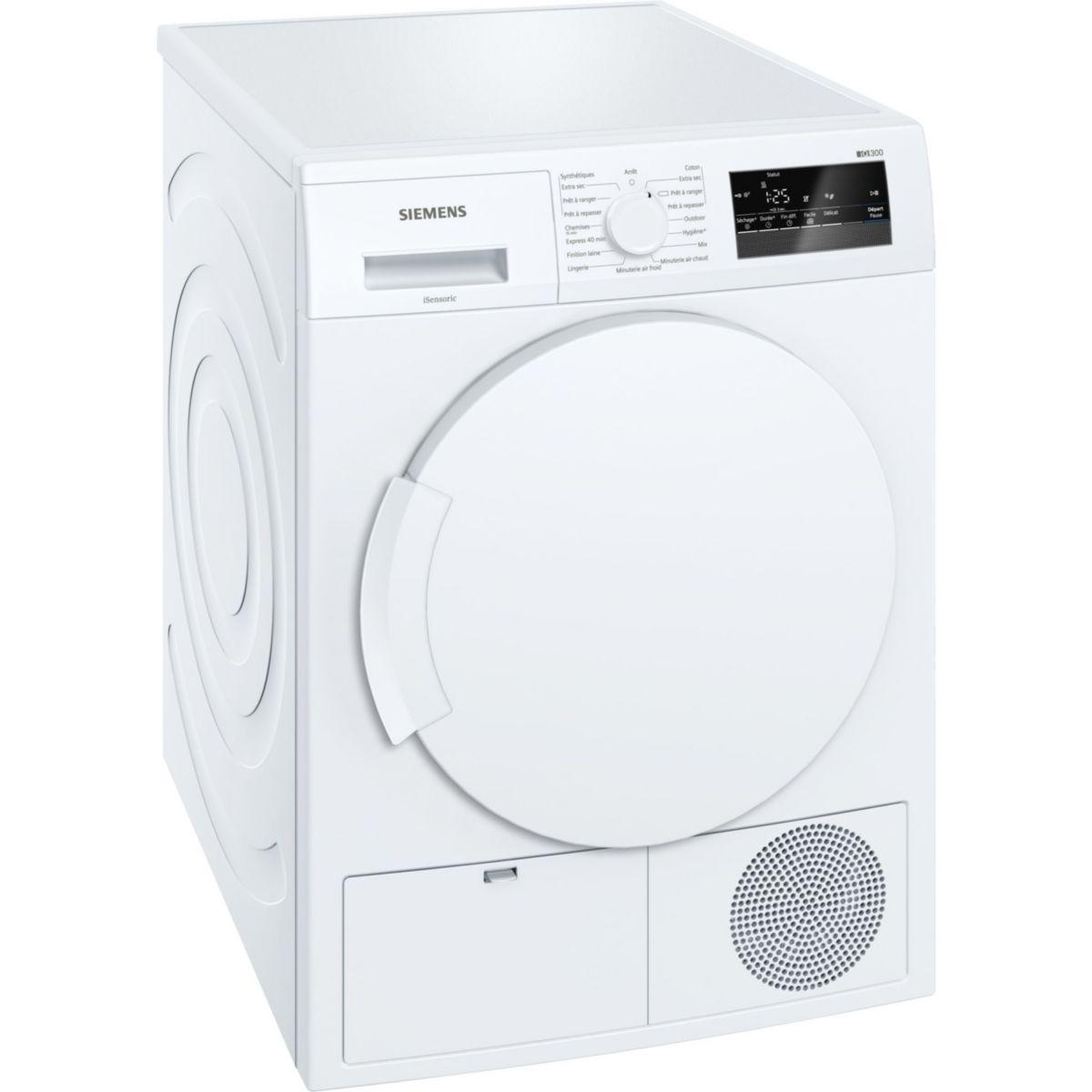Sèche linge à condensation SIEMENS WT43N201FF