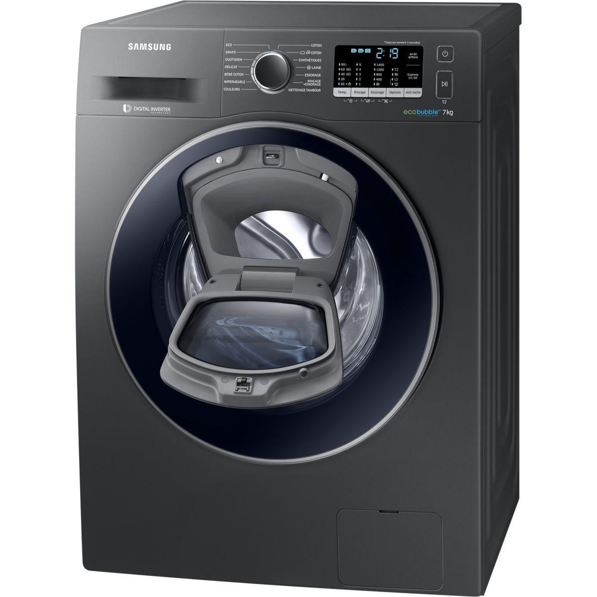 lave linge hublot samsung ww70k5410ux addwash partir de 442 webdistrib - Samsung Ww8ek6415sw Add Wash
