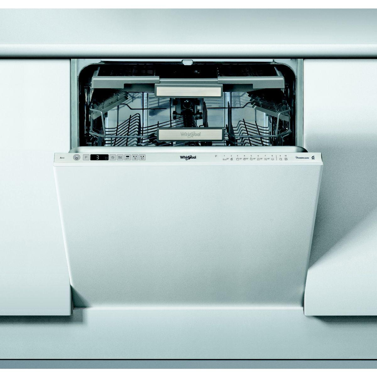 Lave vaisselle tout intégrable WHIRLPOOL WIO3T123PEF