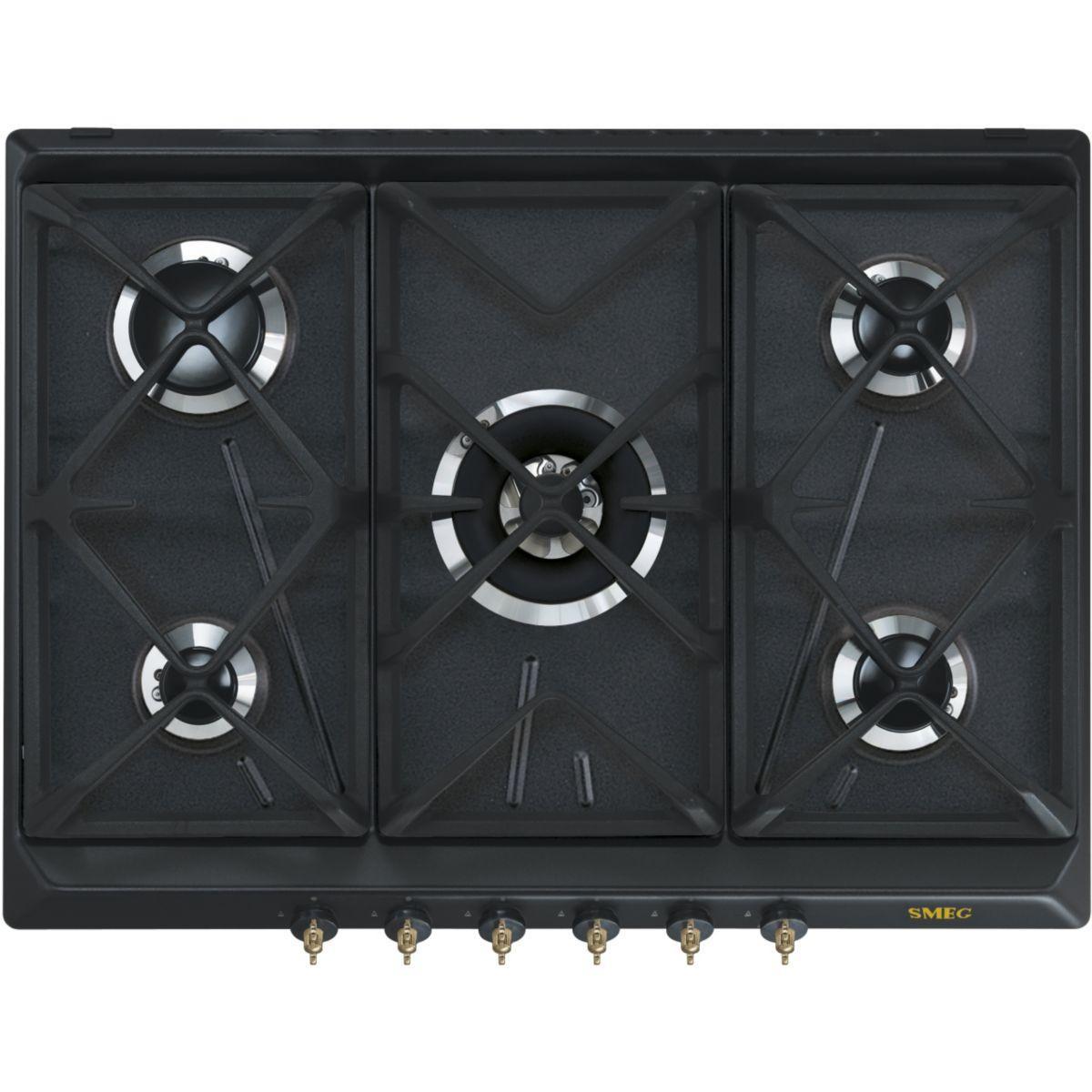 Table de cuisson gaz SMEG SRV876AOGH