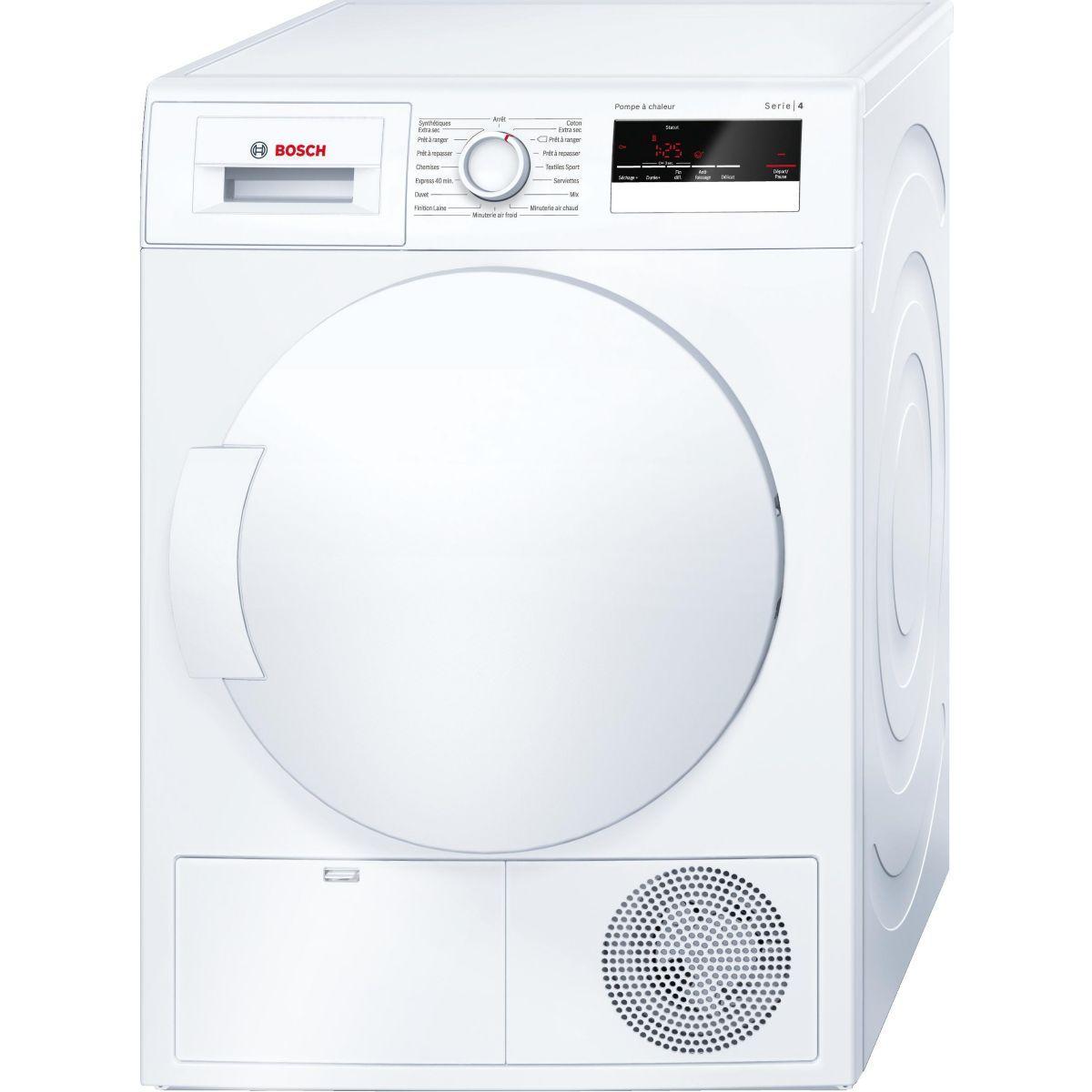 Sèche linge pompe à chaleur BOSCH WTH 83200FF