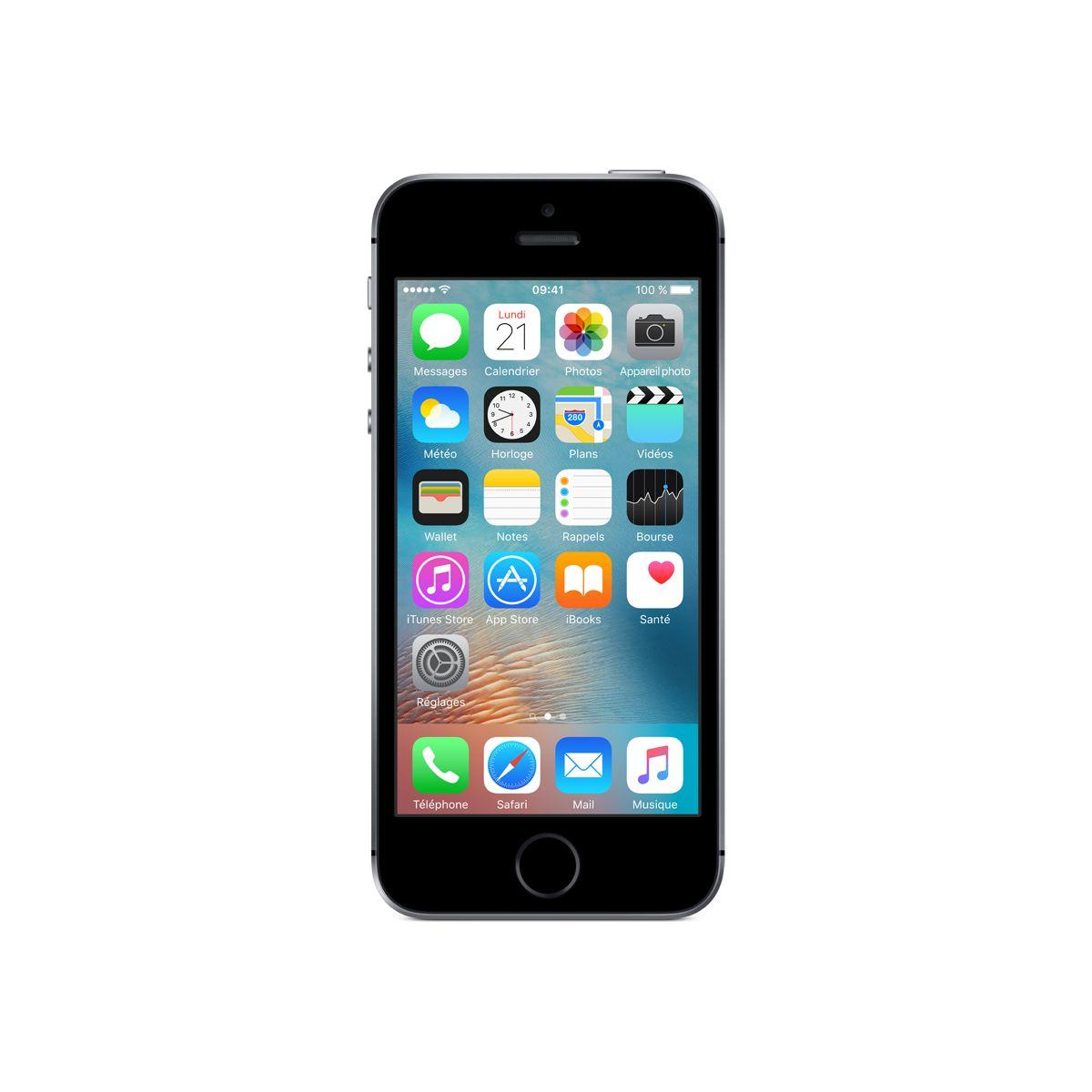 Smartphone APPLE iPhone SE 32Go Gris Sid