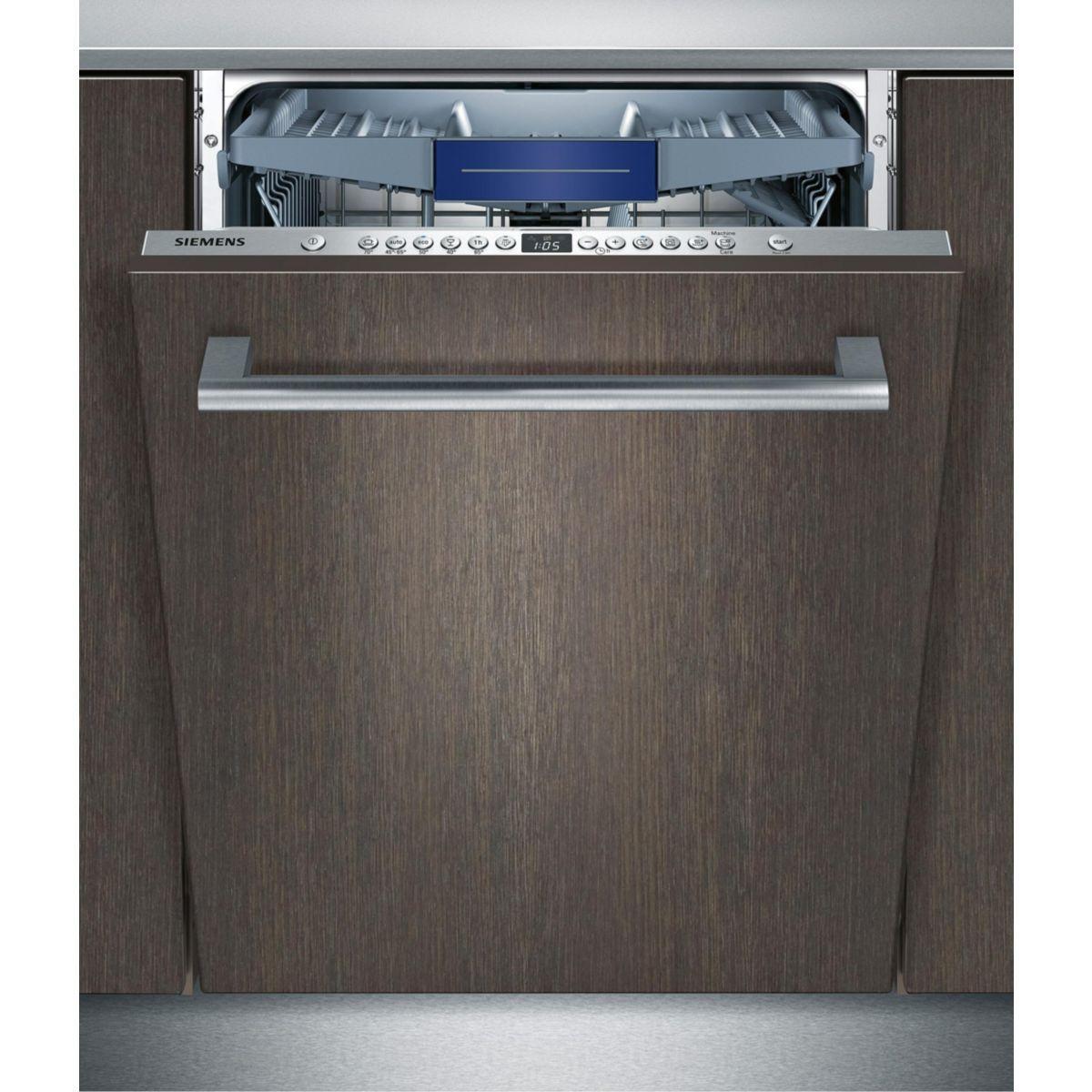 Lave vaisselle tout intégrable SIEMENS SX636X03ME