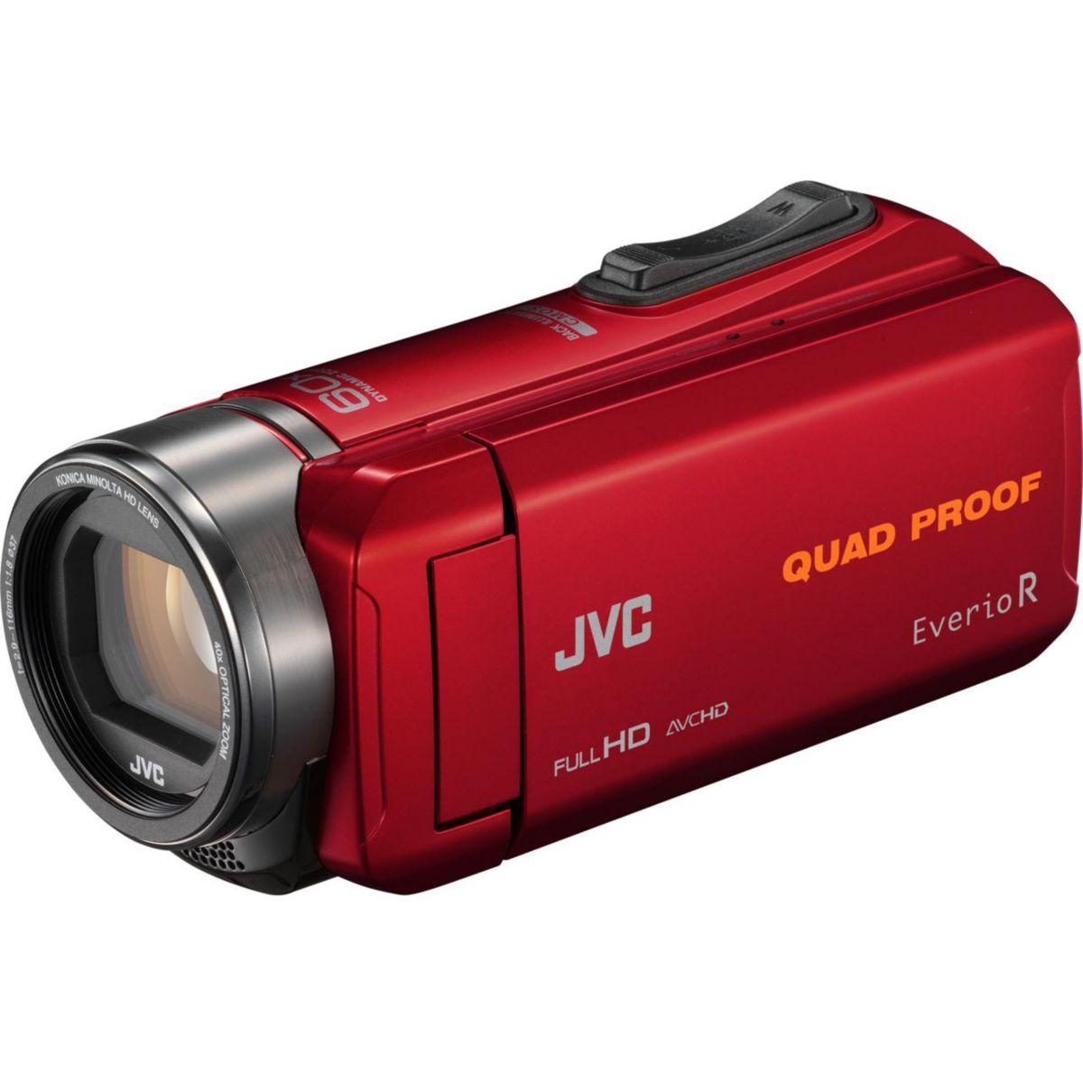 Camescope JVC GZ-R435 Rouge