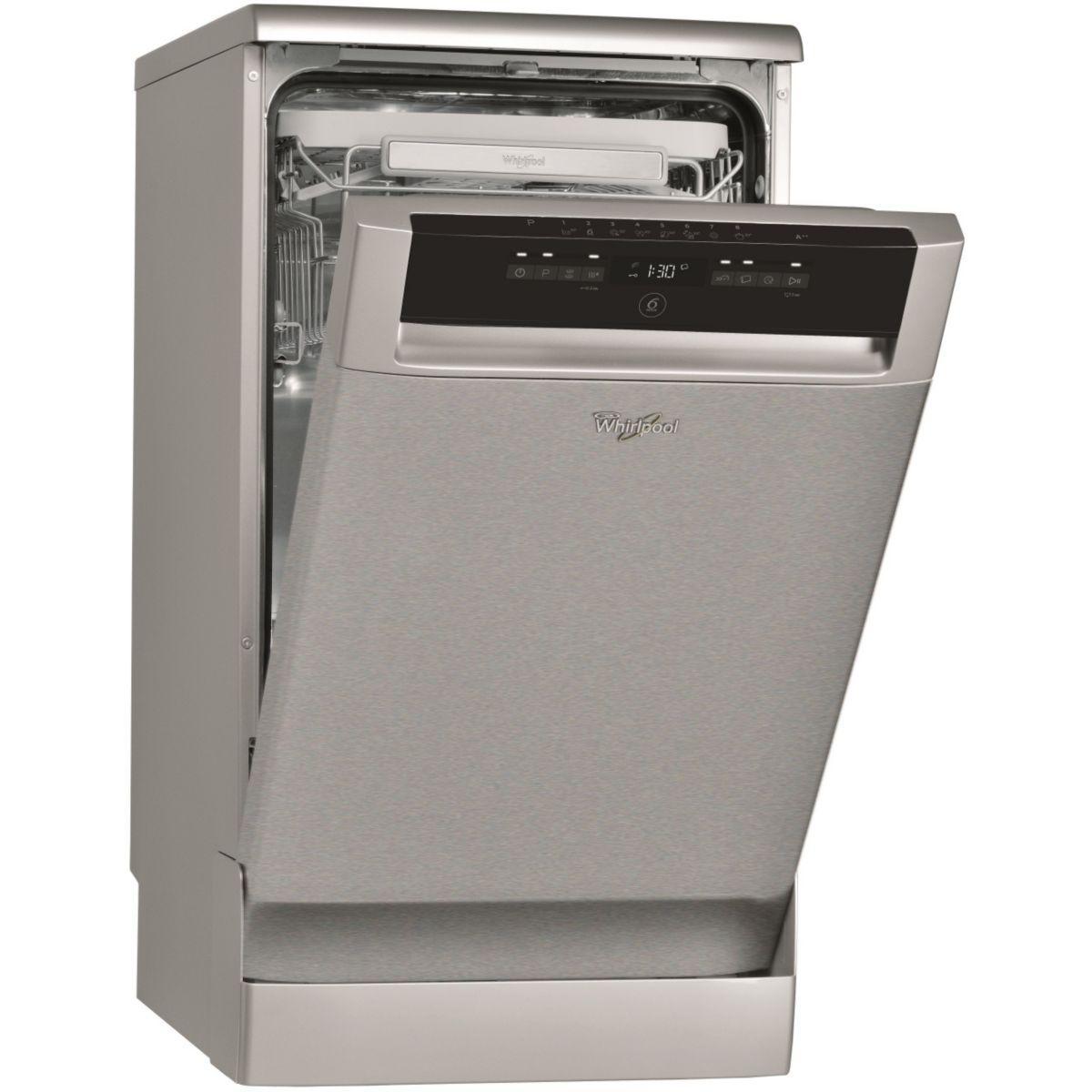 Lave-vaisselle 45cm WHIRLPOOL ADP 522IX (photo)