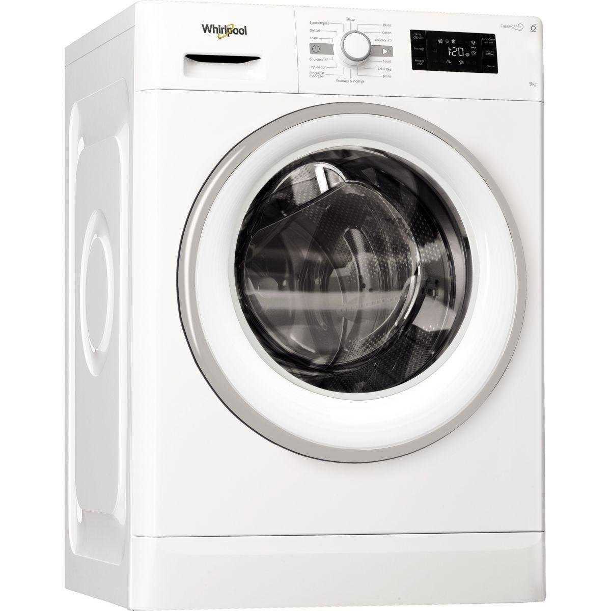 Lave-linge Frontal WHIRLPOOL FRESHCARE FWG 91484 W