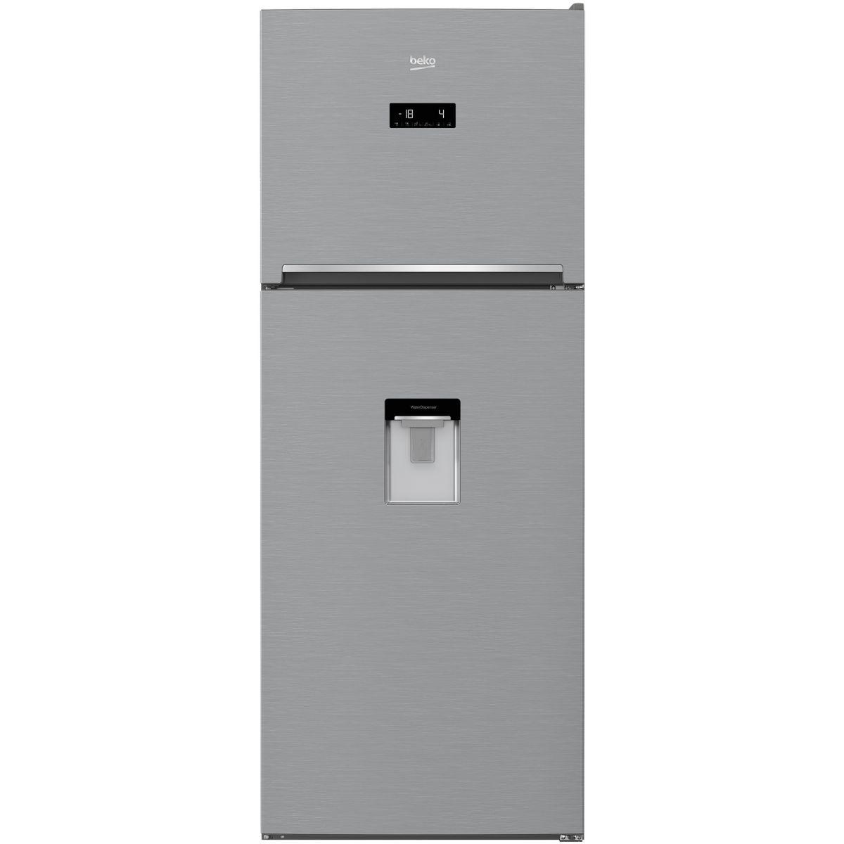 Réfrigérateur 2 portes BEKO RDNT470E20DZBS
