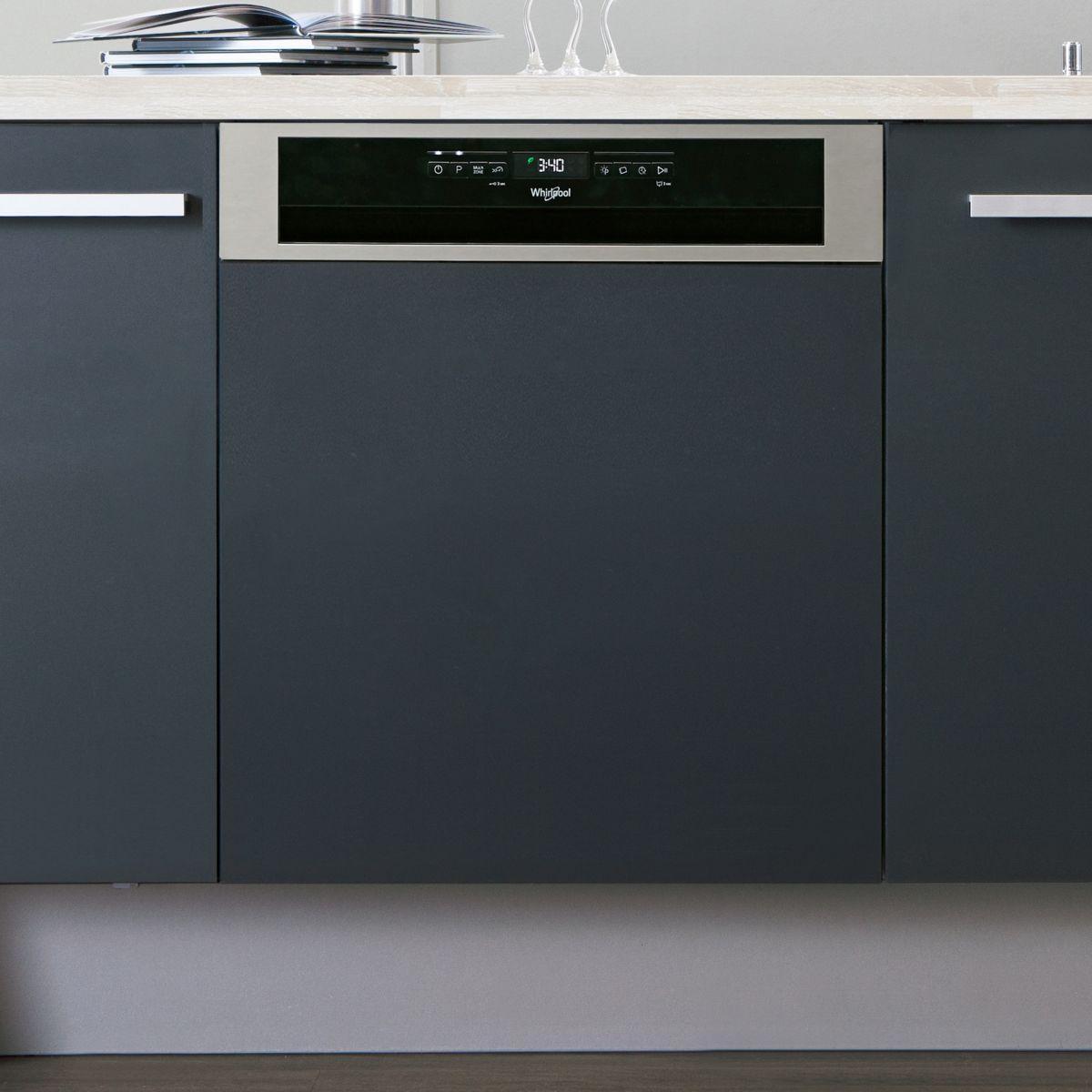 Lave vaisselle encastrable WHIRLPOOL WBO3T123PFX