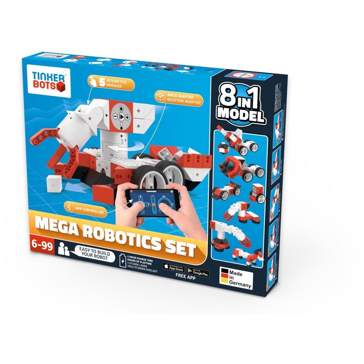 Robot programmable TINKERBOTS Robotics mega set