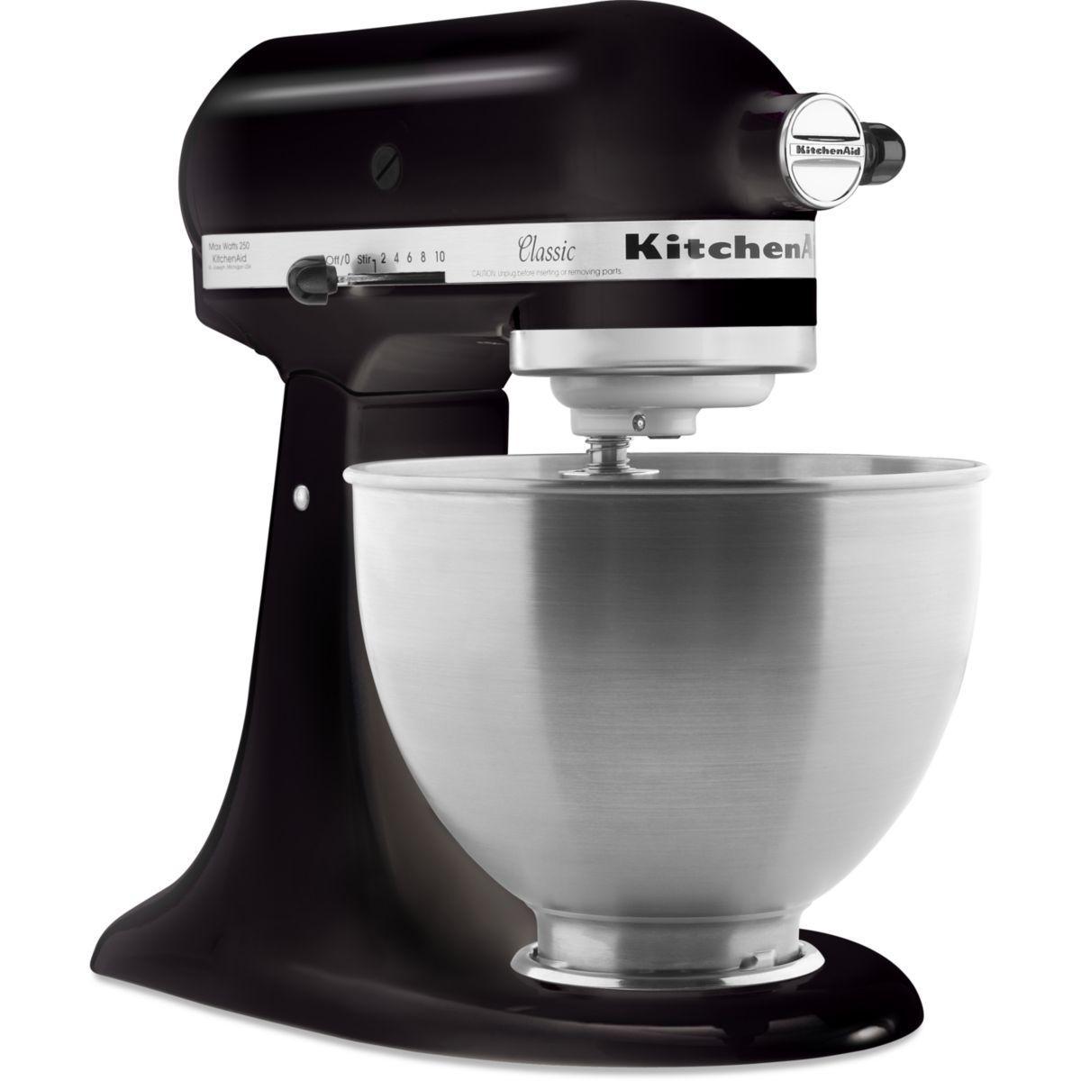 Robot pâtissier KITCHENAID 5K45SS EOB noir CLASSIC