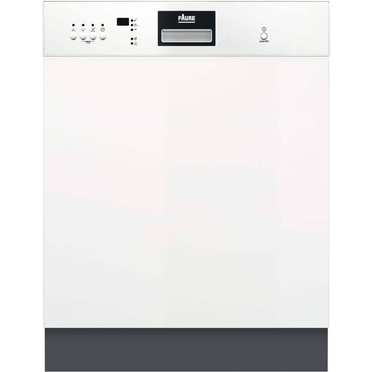 Lave vaisselle encastrable FAURE FDI26022WA