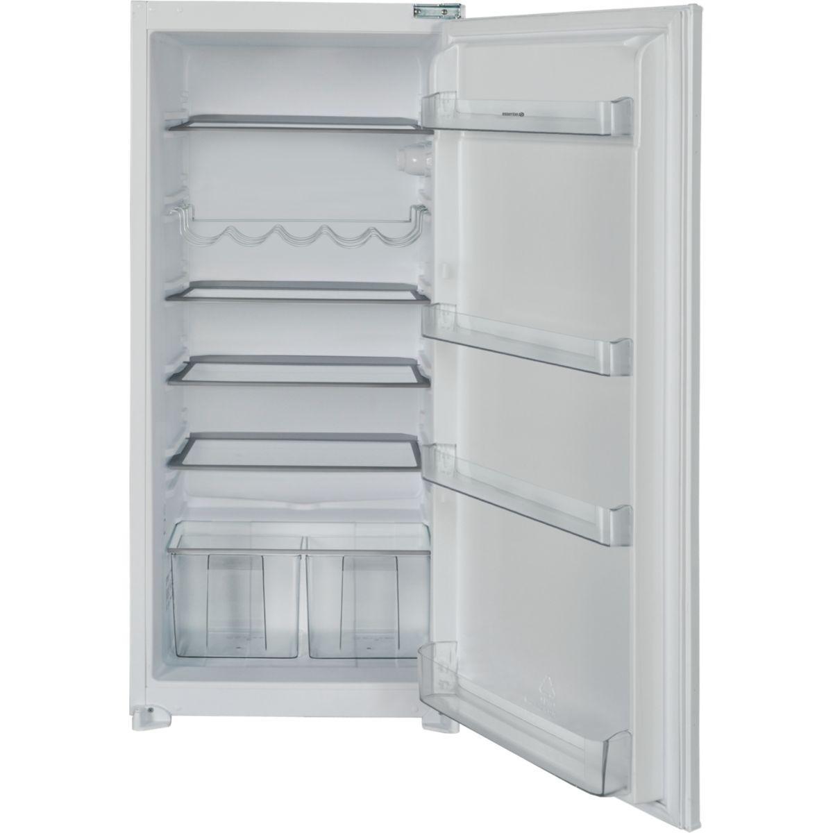 Réfrigérateur 1 porte encastrable ESSENTIELB ERLI 203
