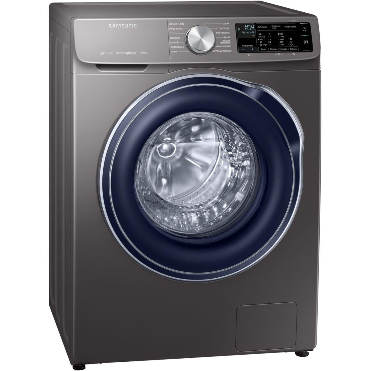 Lave linge connecté SAMSUNG QuickDrive EX-WW90M645OBX