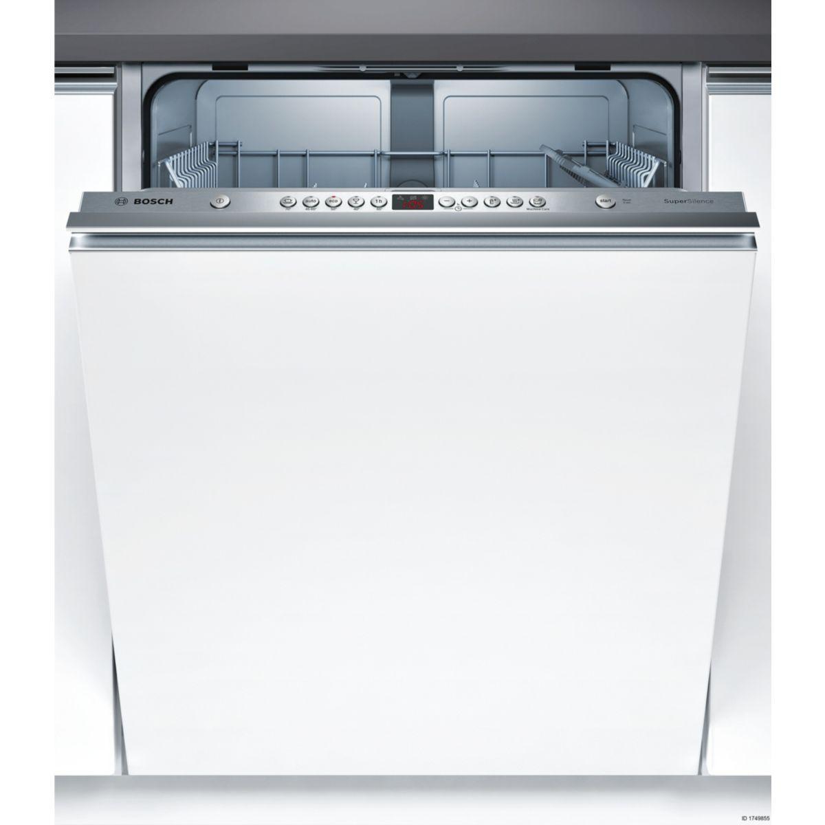 Lave vaisselle tout intégrable BOSCH SMV45GX02E