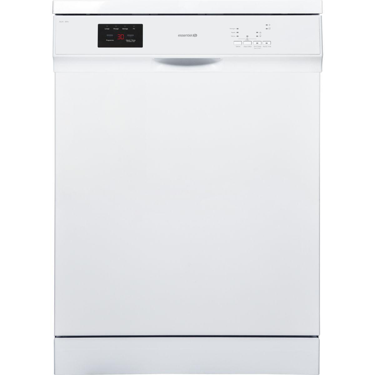 Lave vaisselle 60 cm ESSENTIELB ELV3-391b