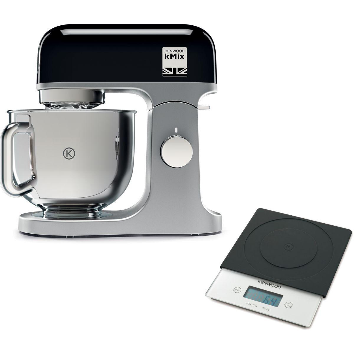 Robot pâtissier KENWOOD KMX850RD Kmix Noir + Balance AT850B