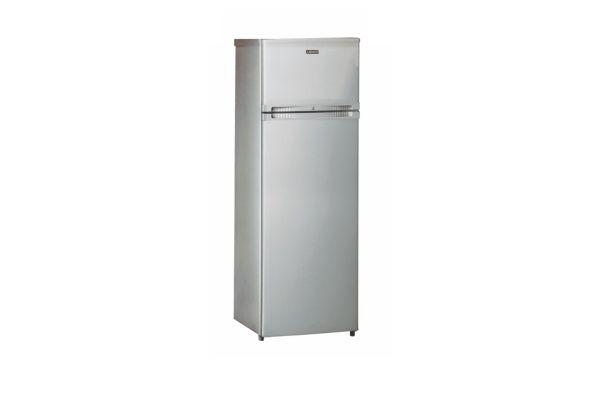 Réfrigérateur congélateur en haut LADEN DP169IS Silver