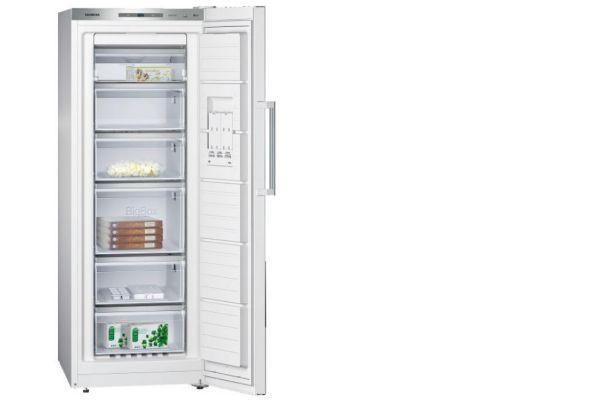 Congélateur armoire SIEMENS ecoPlus GS29NAW30F 195 litres
