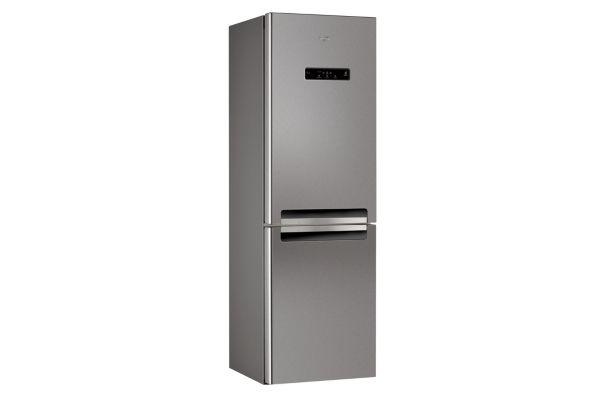 Réfrigérateur congélateur en bas WHIRLPOOL WBV3387NFCIX Inox