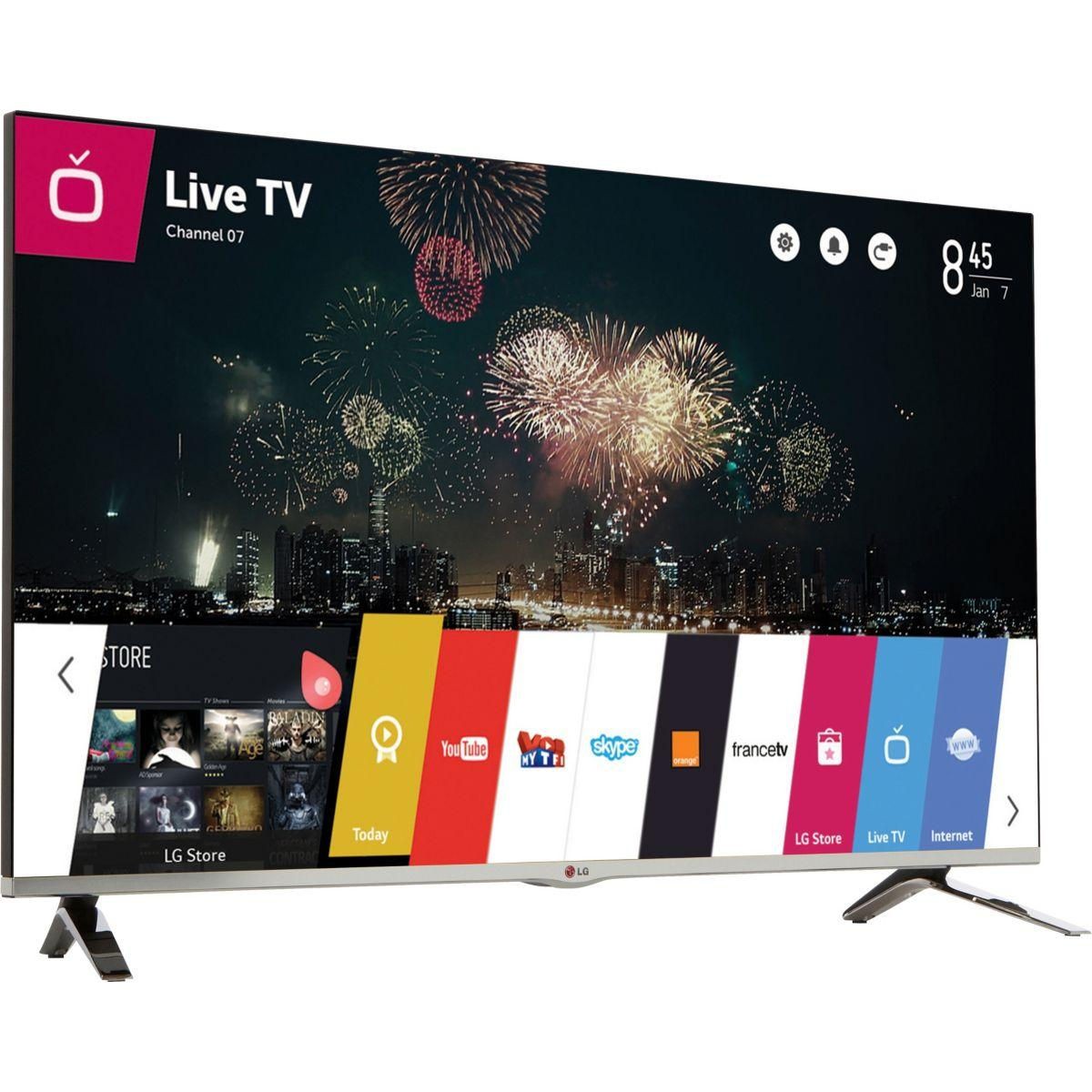 TV LG 47LB670V 700Hz 3D SMART TV