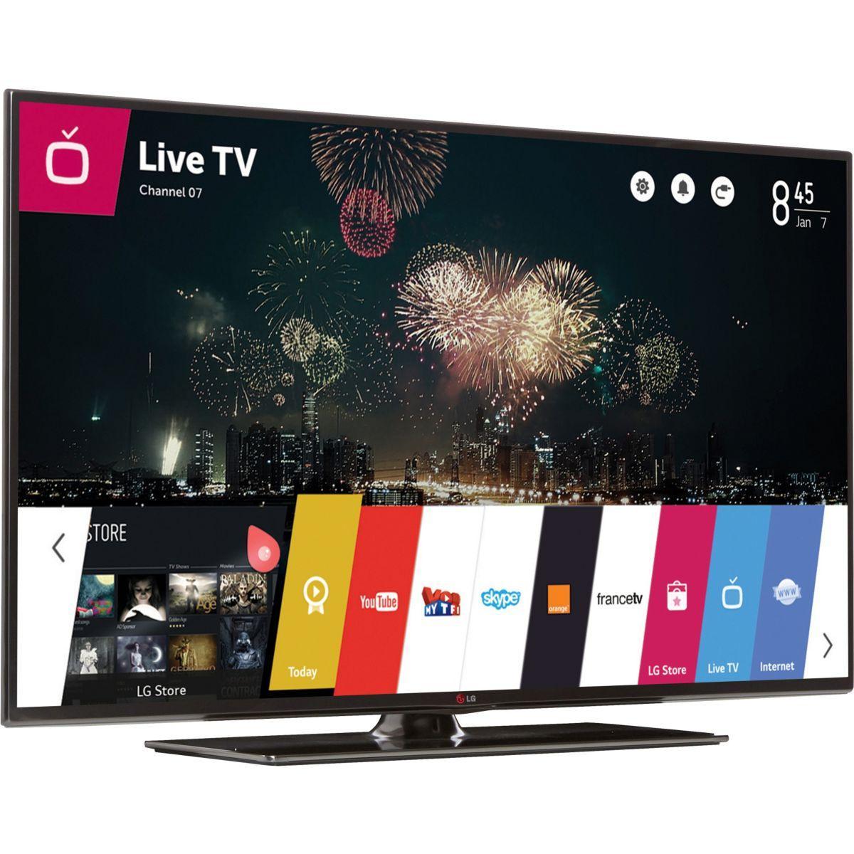 TV LED 3D Smart TV 500Hz MCI LG 47LB650V (119cm)