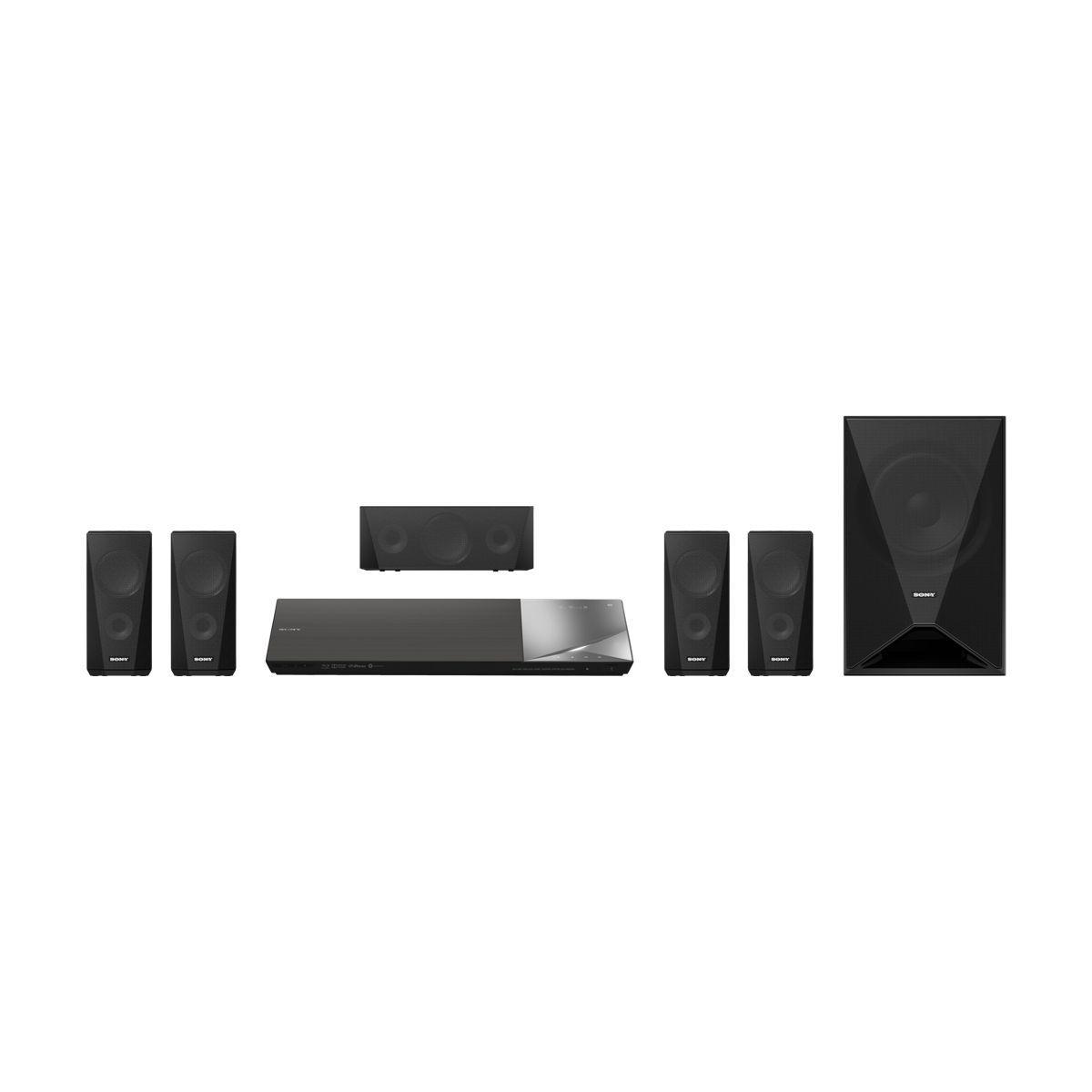 Home cinéma SONY 5.1 Blu-ray 3D 1000W BDVN5200