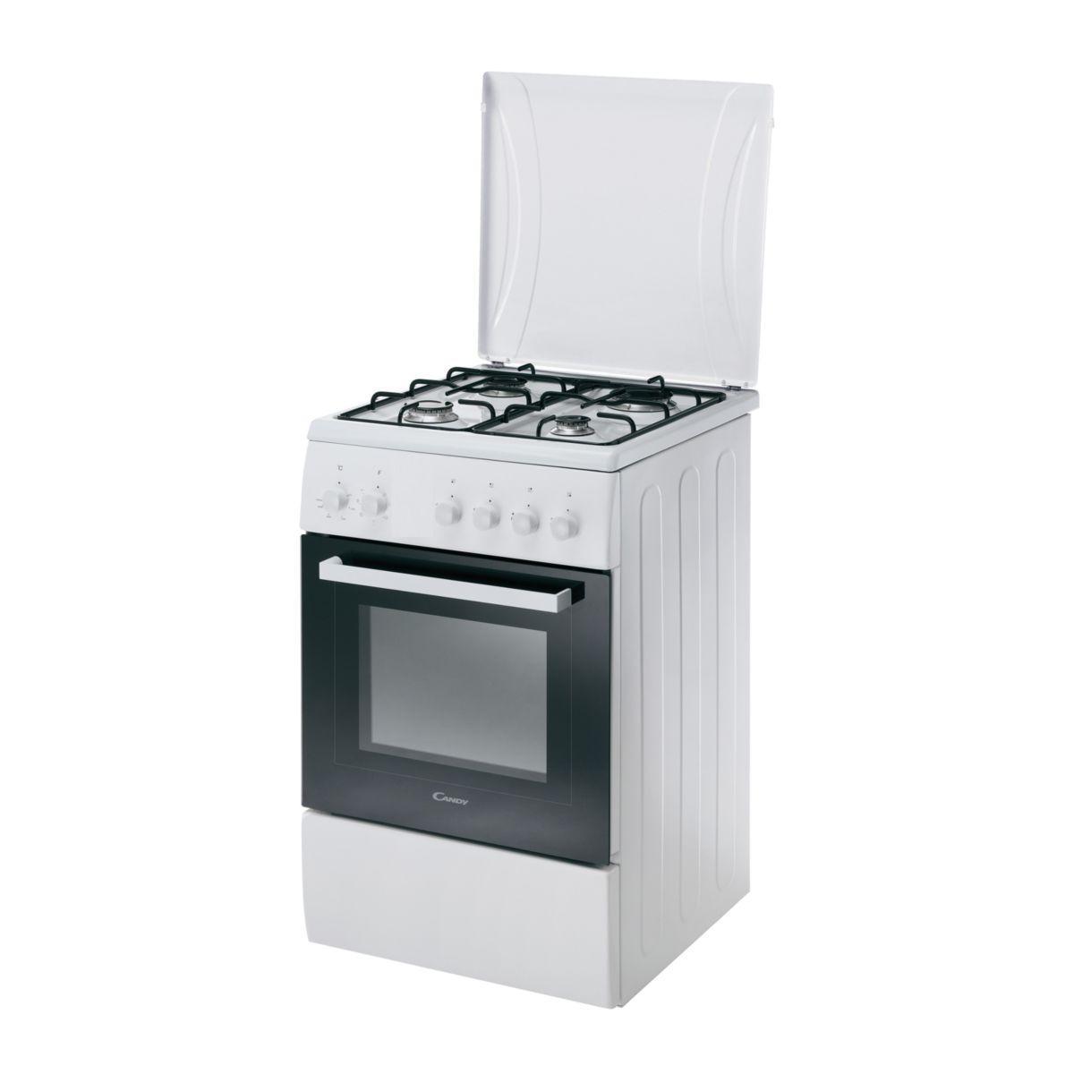 Cuisinière gaz CANDY CCG5540PW/1