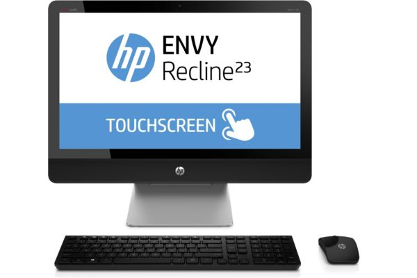 Ordinateur tout en un tactile HP Recline 23-k246nf