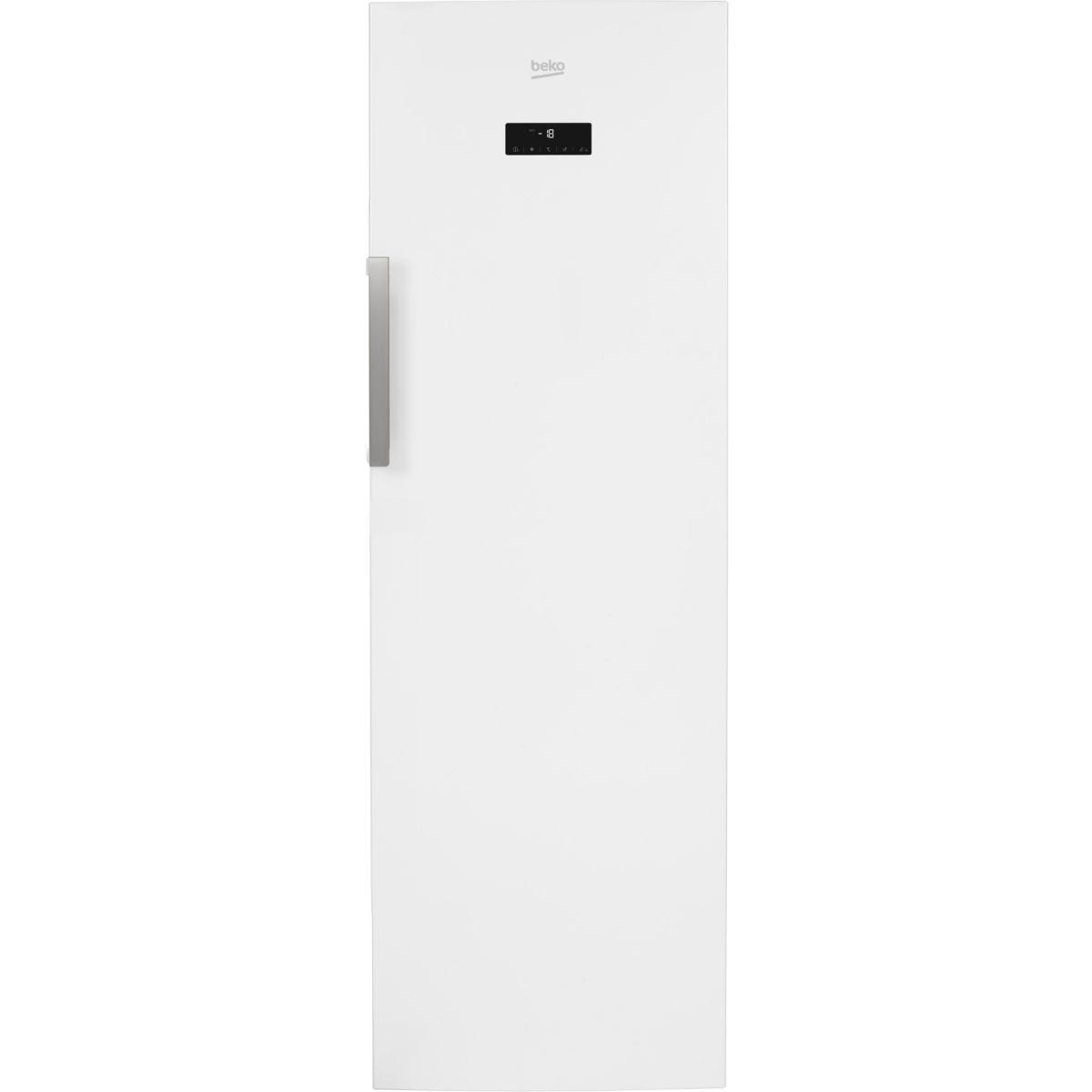 Congélateur armoire BEKO RFNE312E23W