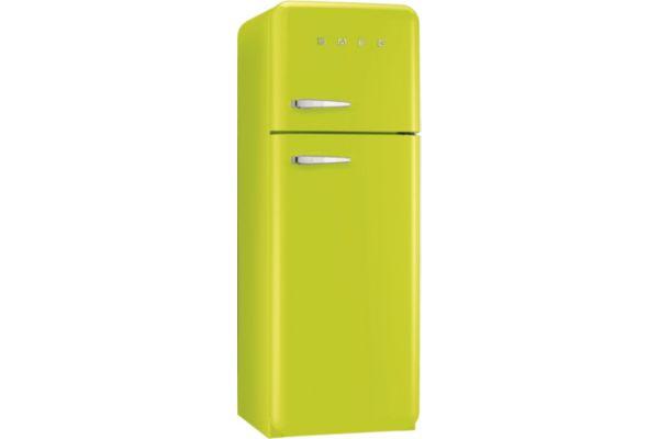 Réfrigérateur congélateur en haut SMEG FAB30RVE1 Vert Pomme