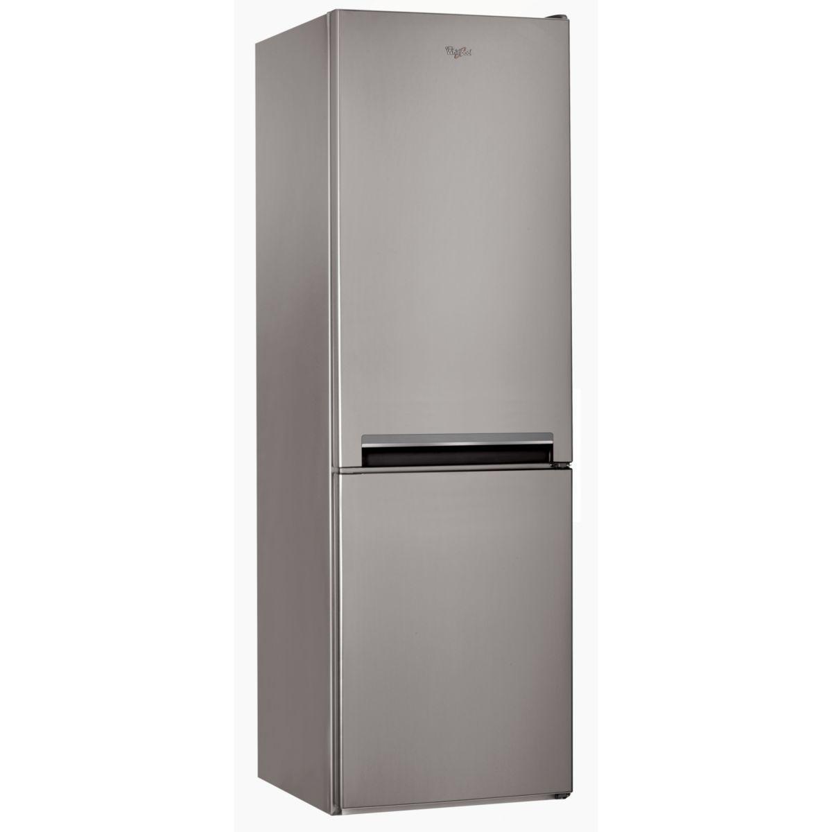 Réfrigérateur congélateur en bas WHIRLPOOL BSNF8101OX