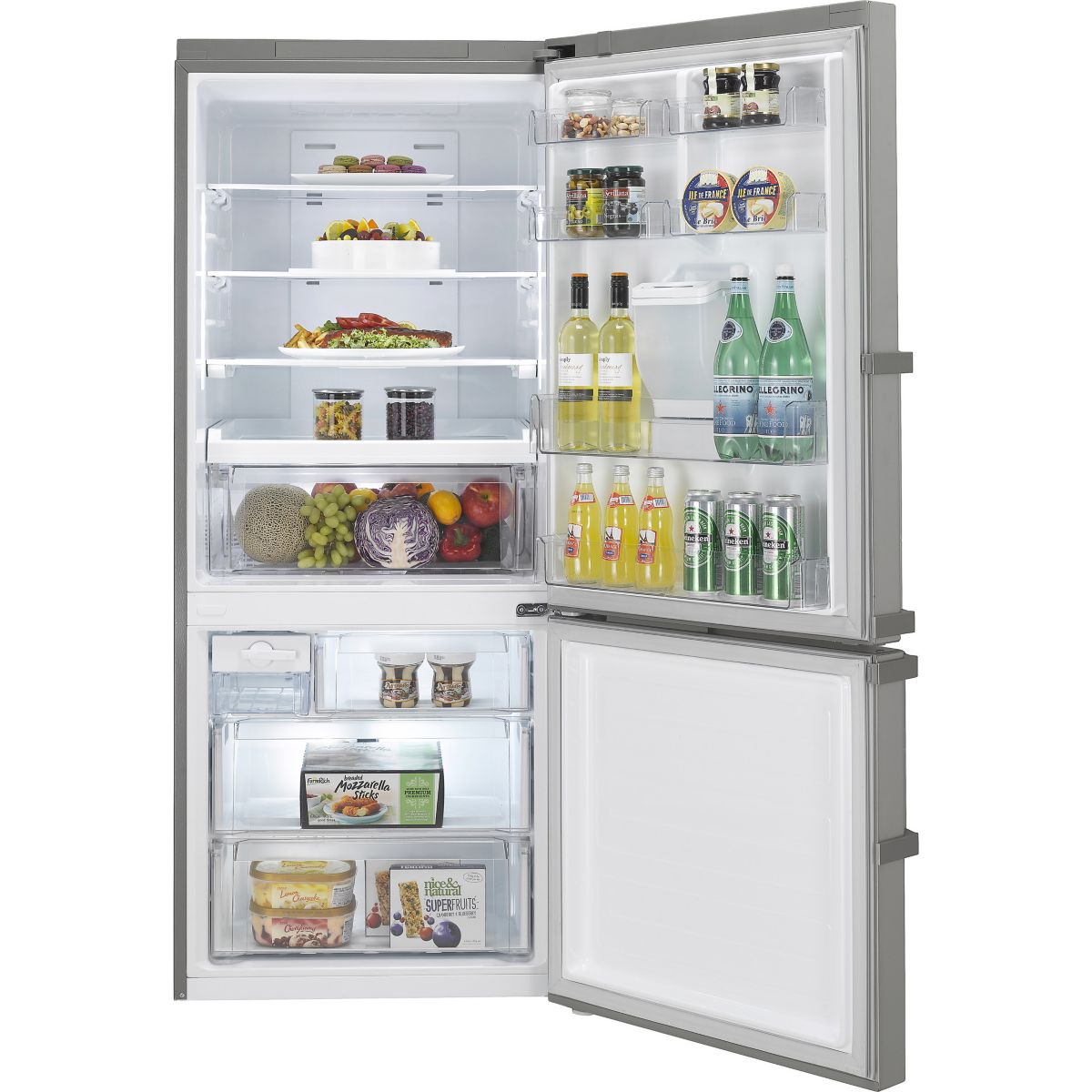 Réfrigérateur congélateur en bas LG GCF7228SC