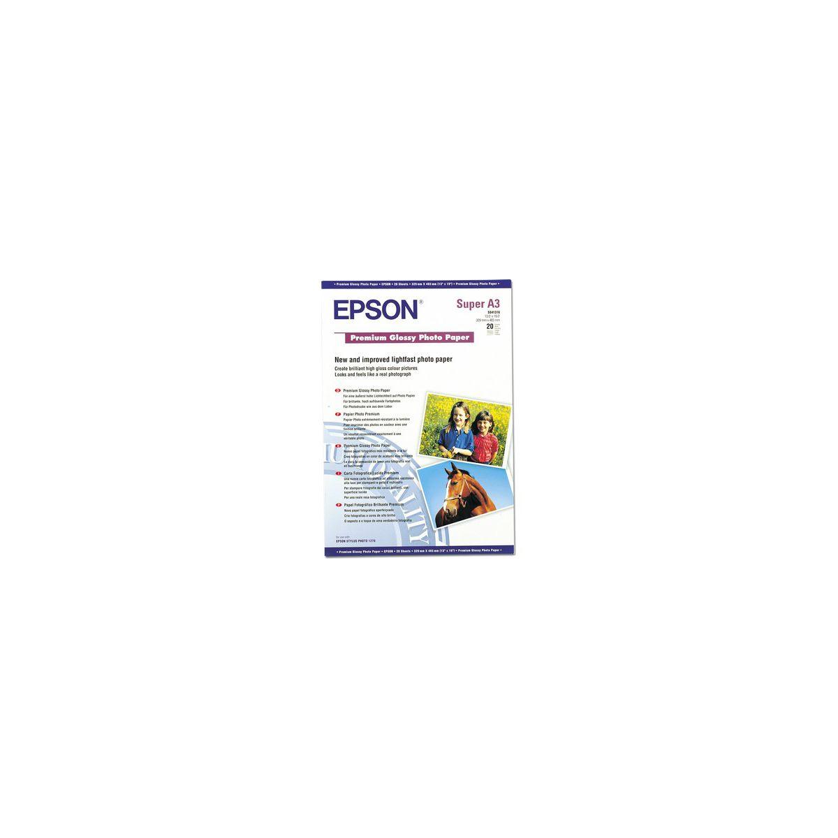 Papier photo EPSON A3+ Mat -50f - 192g/m²