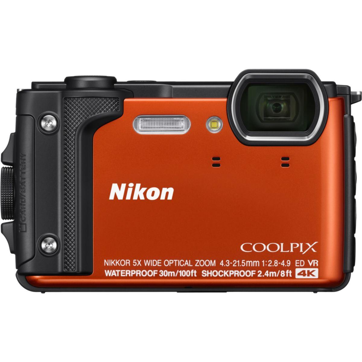 Appareil photo Compact NIKON Coolpix W300 Orange